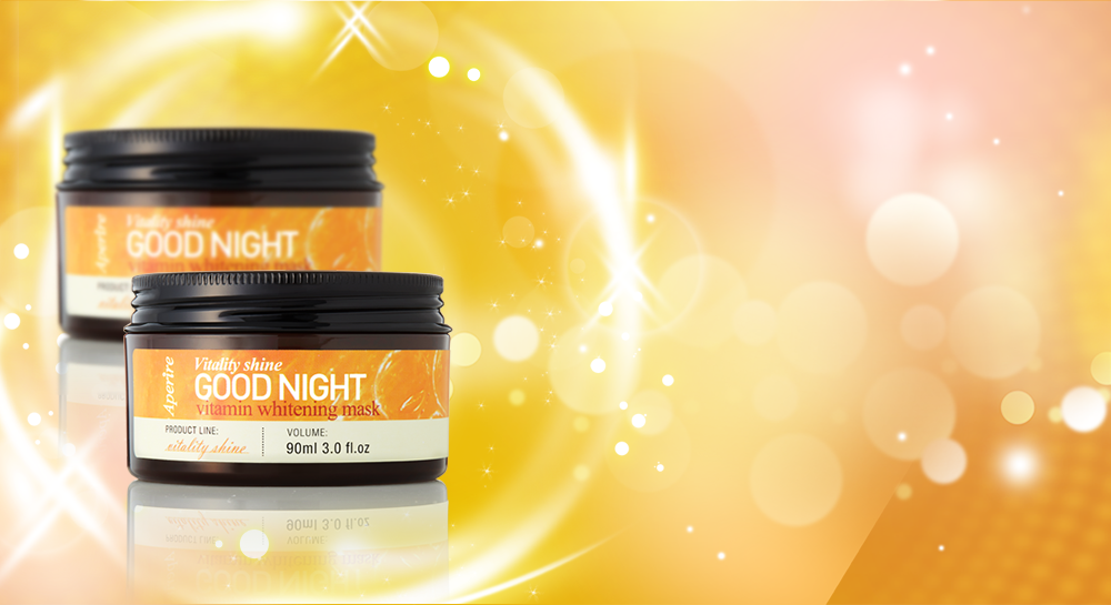 VITALITY SHINE GOOD NIGHT VITAMIN WHITENING MASK